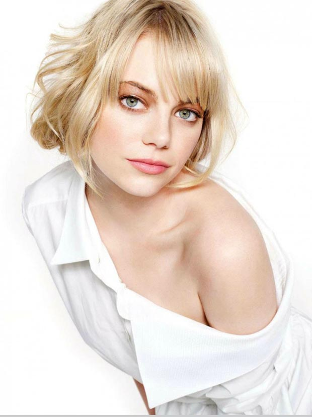 How Lovely Is Emma Stone's Glamour UK February 2013?