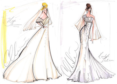 Christian Siriano's Bride Gowns
