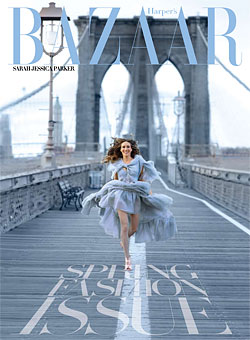 SJP Harper s Bazaar March09 subscribers cover