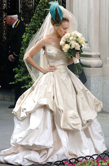 Carrie Bradshaw Wedding Dress By Vivienne Westwood Sold Out