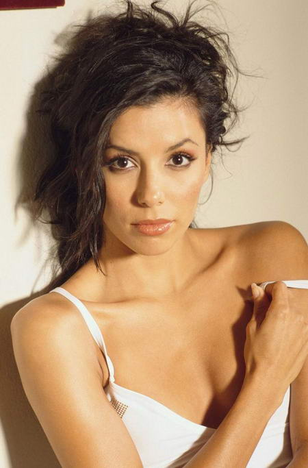 Eva Longoria Advertises for Skimpies