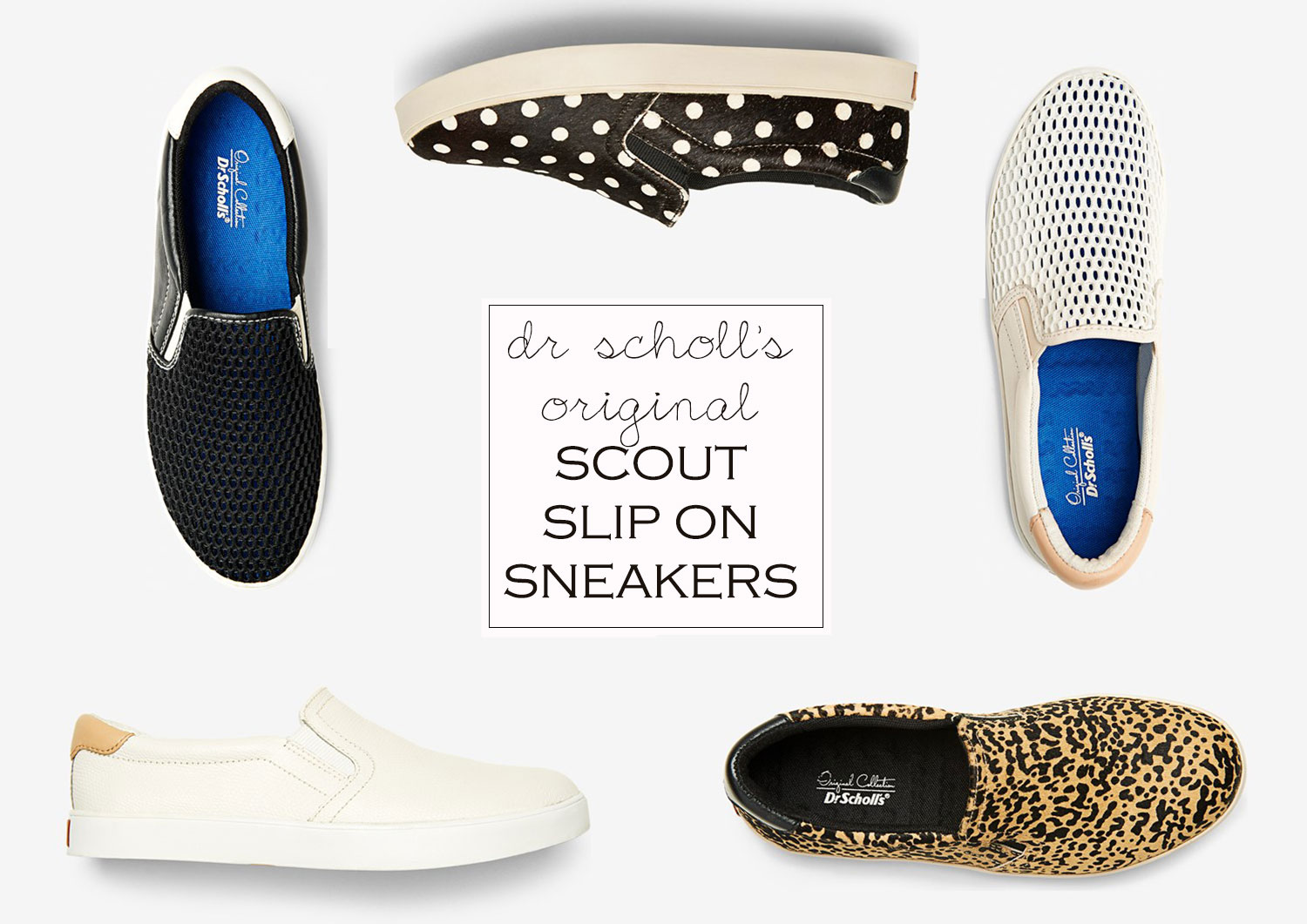slip on sneakers dr scholls scout