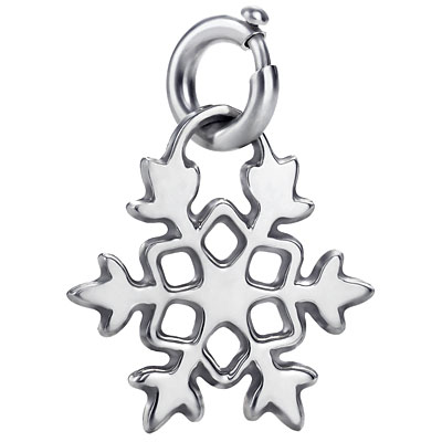 Christmas Present of The Day – Tiffany and Co Snowflake Tag Charm
