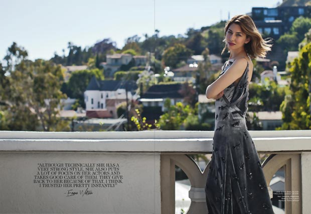 Sofia Coppola Louis Vuitton dress Vogue Australia