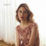 Sofia Coppola pink Louis Vuitton dress Vogue Australia