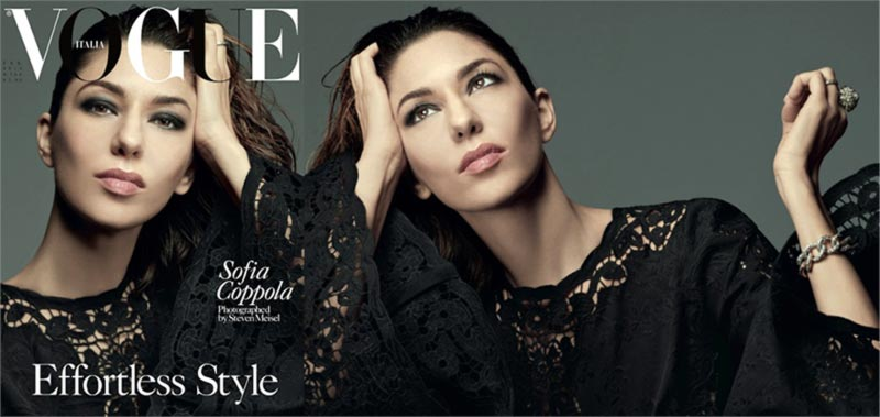 Sofia Coppola Vogue Italia February 2014 cover