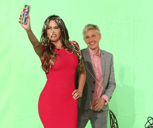 Sofia Vergara And Ellen DeGeneres Bring Commercial Fun Back!