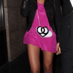 Solange Knowles Chanel heart bag