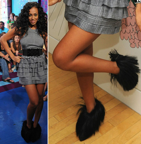 Solange Knowles' Furry Disaster