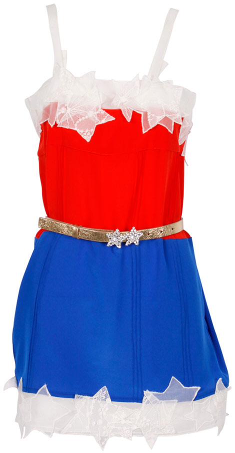 Sonia Rykiel Colette DC Comics Wonder Woman dress
