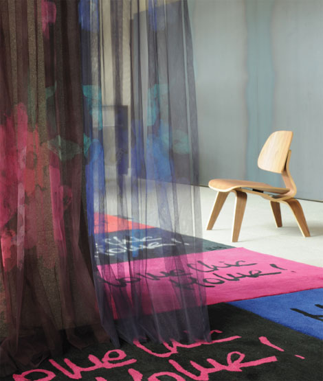 Sonia Rykiel Maison curtains rugs
