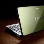 Sony Vaio P Series lifestyle netbook emerald green