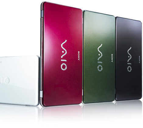 Sony Vaio P Series lifestyle netbook 4