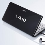 Sony Vaio P Series lifestyle netbook black