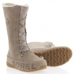 Sorel Shila suede urban winter boots