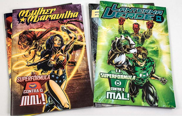 special edition DC Comics Heroes Superformula cancer treatment