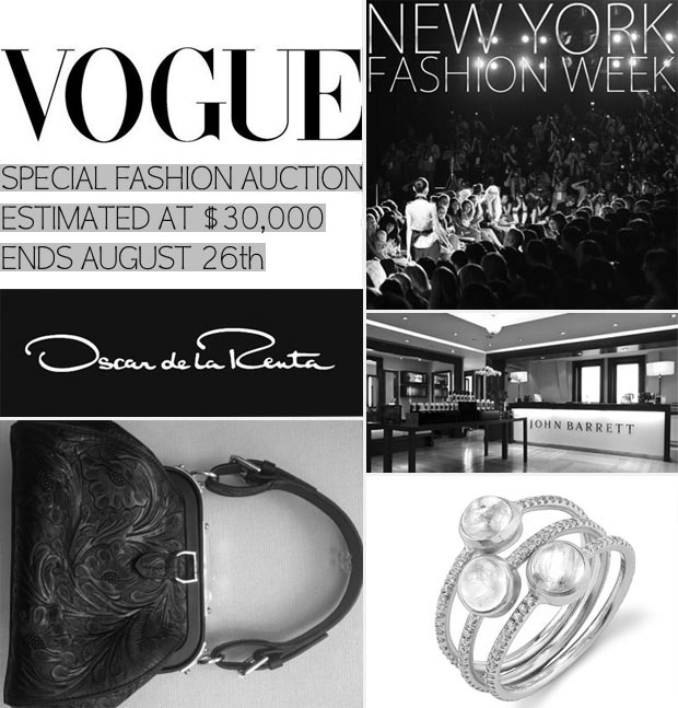 special fashion week auction