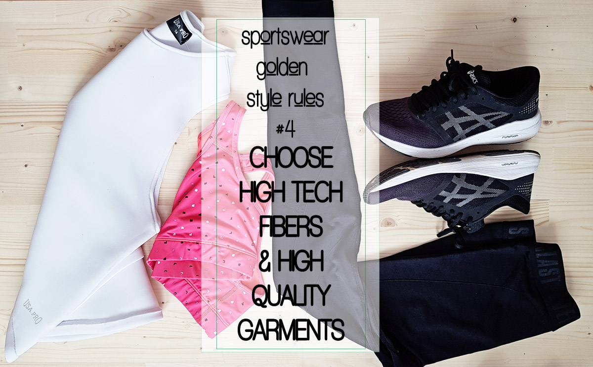 sportswear style rules high tech fibers