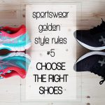 sportswear style rules the right shoes