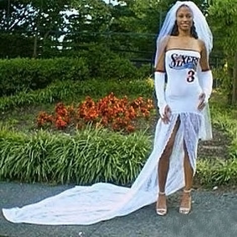 sporty wedding dress