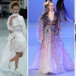 Spring 2014 Couture flowers Chanel Saab Valli