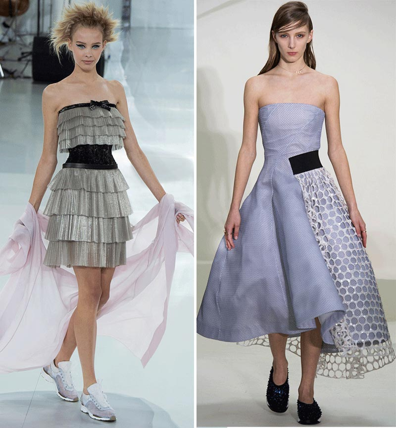 Spring 2014 Couture highlights Chanel Dior