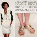 Spring 2014 sandals Vagabond Trina Turk collection