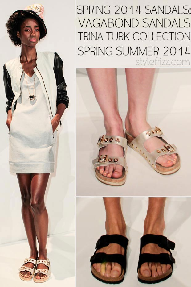 affb9c0b2996 Vagabond Sandals On The Catwalk  Trina Turk Spring 2014 Collection ...