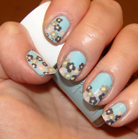Spring Flowers manicure