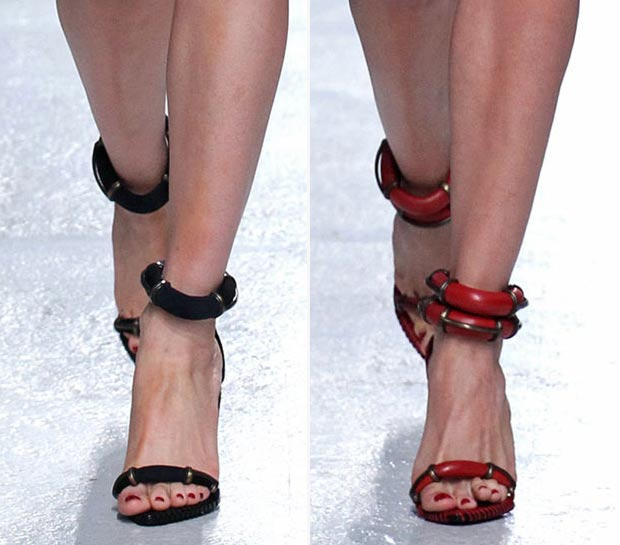 Spring Sandals Anthony Vaccarello SS14