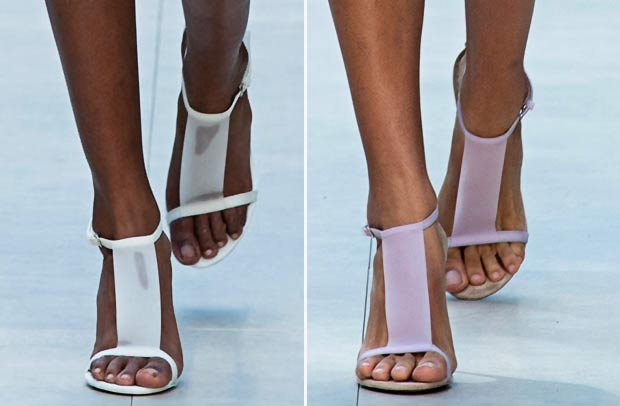 Spring Summer 2014 Sandals Burberry SS 14