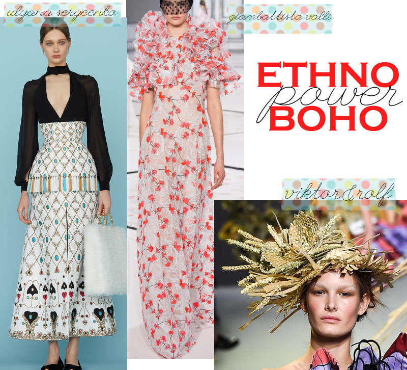 Spring Summer 2015 trends boho folk