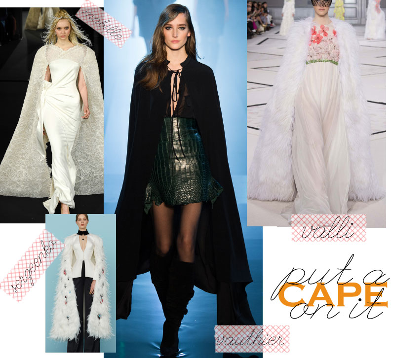 Spring Summer 2015 trends cape