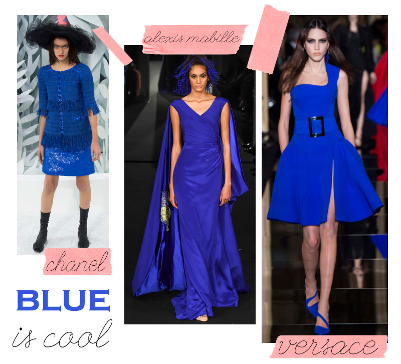 Spring Summer 2015 trends Cobalt Blue