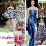 Spring Summer 2015 trends flowers
