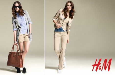 Spring Must Have. H & M Essentials By Anne Sofie