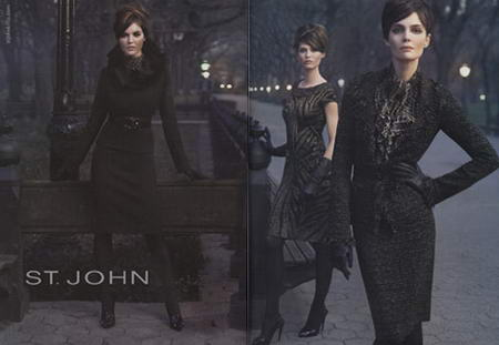 St John Fall Winter 2008 2009 Ad Campaign