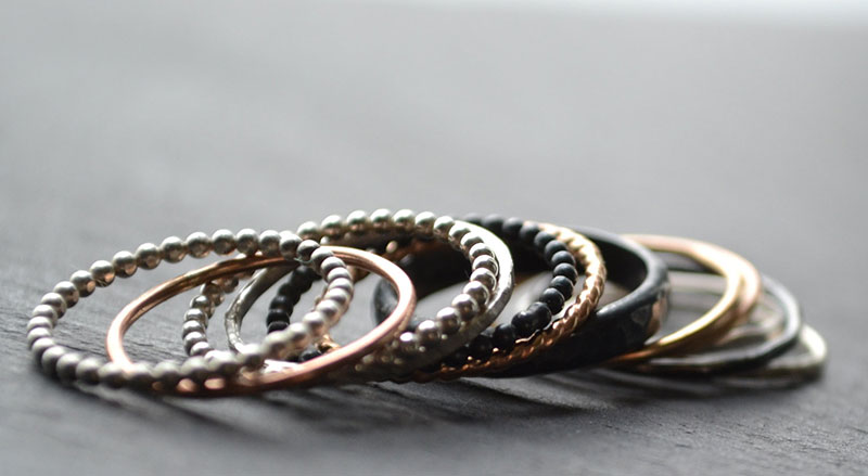 stackable rings lunaticart