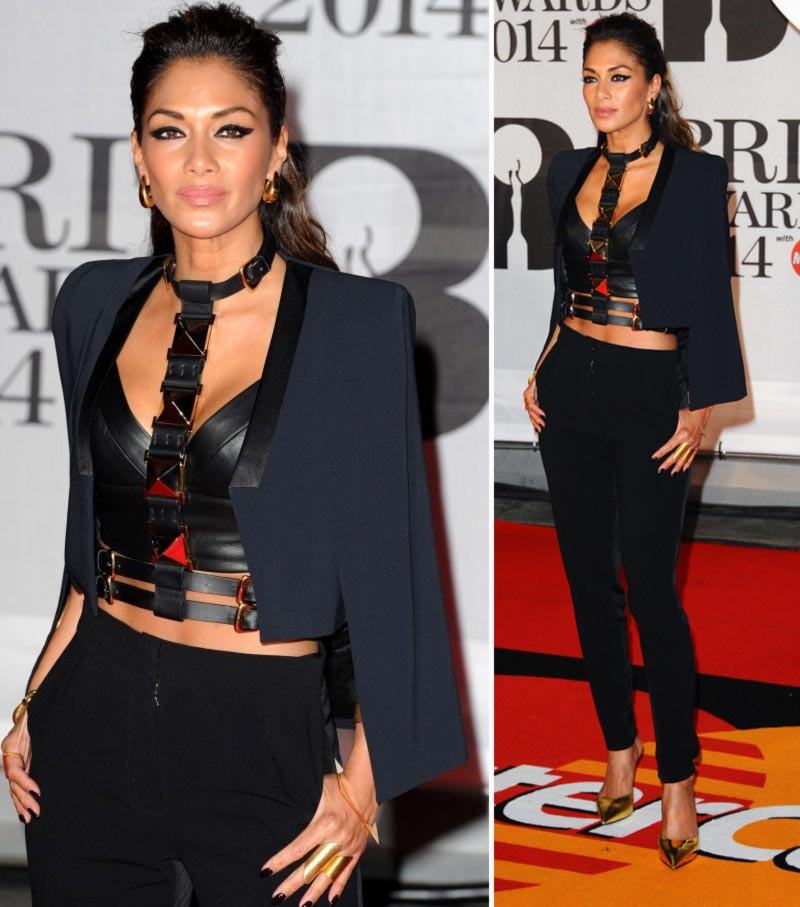 stars elegant suits Red Carpet Nicole Scherzinger