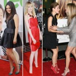 stars with evening shoes Mila Kunis Emma Stone Jennifer Aniston Marion Cotillard