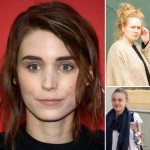 stars with little or no makeup Rooney Mara Adele Dakota Fanning