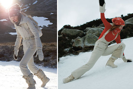 Stella McCartney Adidas Fall 2008 Collection Ski