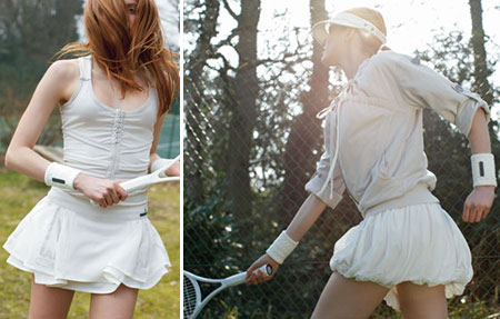 Stella McCartney Adidas Fall 2008 Collection Tennis