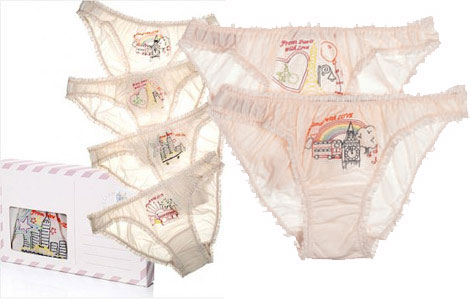 Stella McCartney's Postal Cards Lingerie