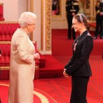 Stella McCartney receives OBE from The Queen March 26