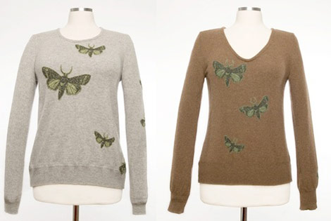 Stella Neptune Cashmere Moth patches