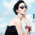 Stella Tennant Dior new sunglasses 2014