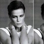 Stephanie de Monaco Vogue Paris December 2008 January 2009 5