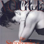 Stephanie de Monaco Vogue Paris December 2008 January 2009 cover