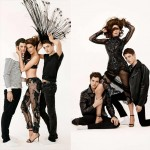 Stephanie Seymour sons provocative pictorial Sebastian Faena
